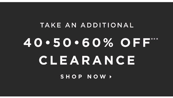 40-50-60% Off Clearance!