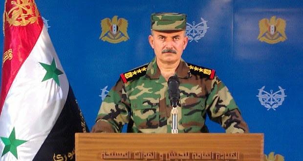 """SIRIA: """"El ejército prosigue sus operaciones militares contra las organizaciones terroristas"""""""