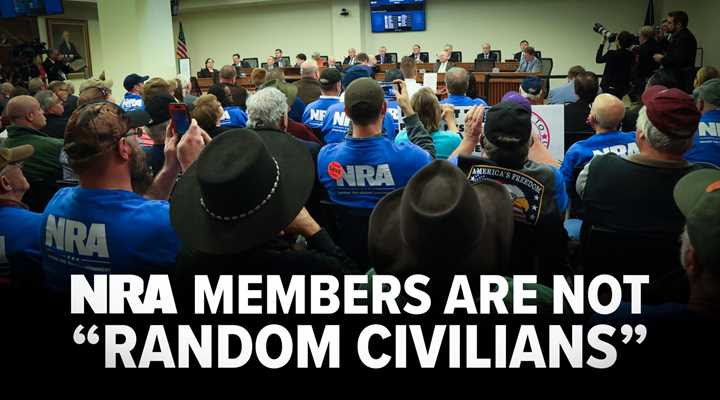 "Sorry Shannon, But Those ""Random Civilians"" Are What Are Known As NRA Members"