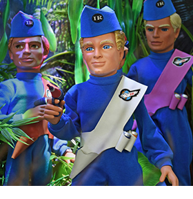 THUNDERBIRDS 1/6 SCALE FIGURES