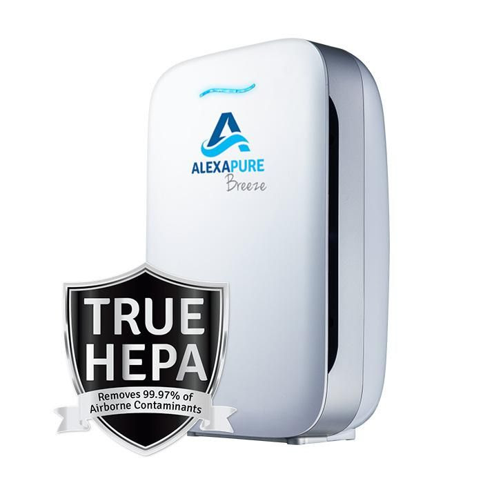 Image result for image of ALEXAPURE BREEZE TRUE HEPA AIR PURIFIER