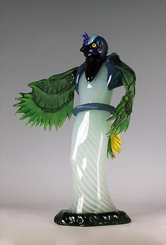 Jasper Green Jay by Julia & Robin Rogers