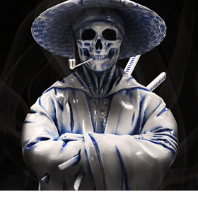 Samurai (Hell Chamber) Limited Edition Art Collectible