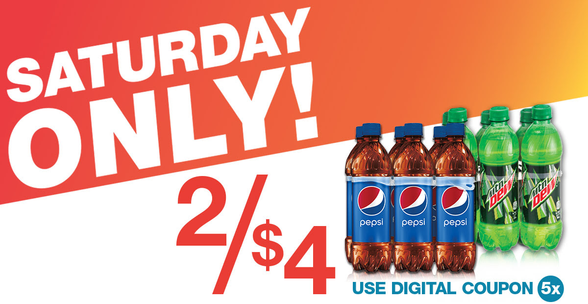 Download Your Coupon for Pepsi 6-Packs, 2/$4!