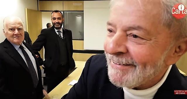 Lula concedió una entrevista a los periodistas de la revista Carta Capital el último miércoles (4) - Créditos: Divulgación