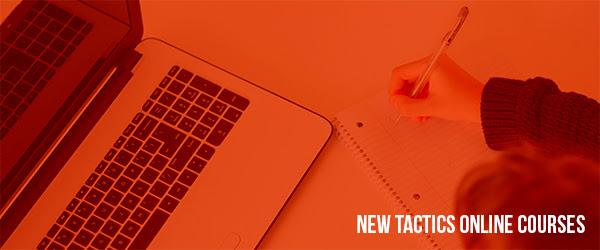 New Tactics Online Course (header image)