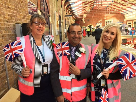 South Western Railway network safely transports thousands of well-wishers between Waterloo and Windsor for royal wedding