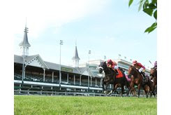 Secret Message wins the Mint Julep Stakes at Churchill Downs