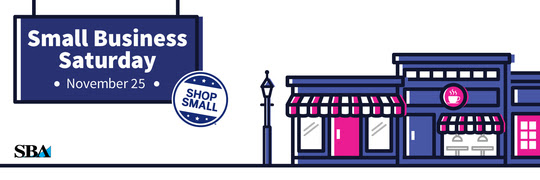 Image: Graphic for 2017 Small Business Saturday 'Shop Small' Campaign