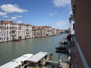 The beautiful Grand Canal in Venice