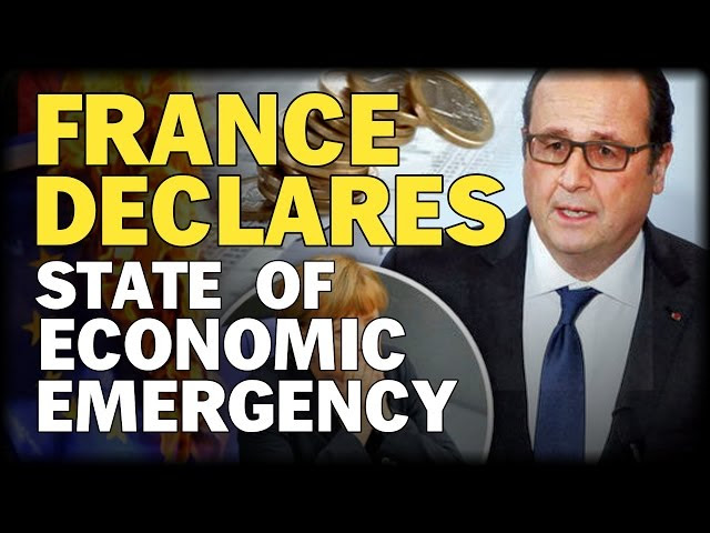 FRANCE DECLARES STATE OF ECONOMIC EMERGENCY  Sddefault
