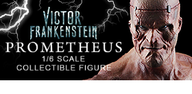 VICTOR FRANKENSTEIN MOVIE 1/6 SCALE PROMETHEUS