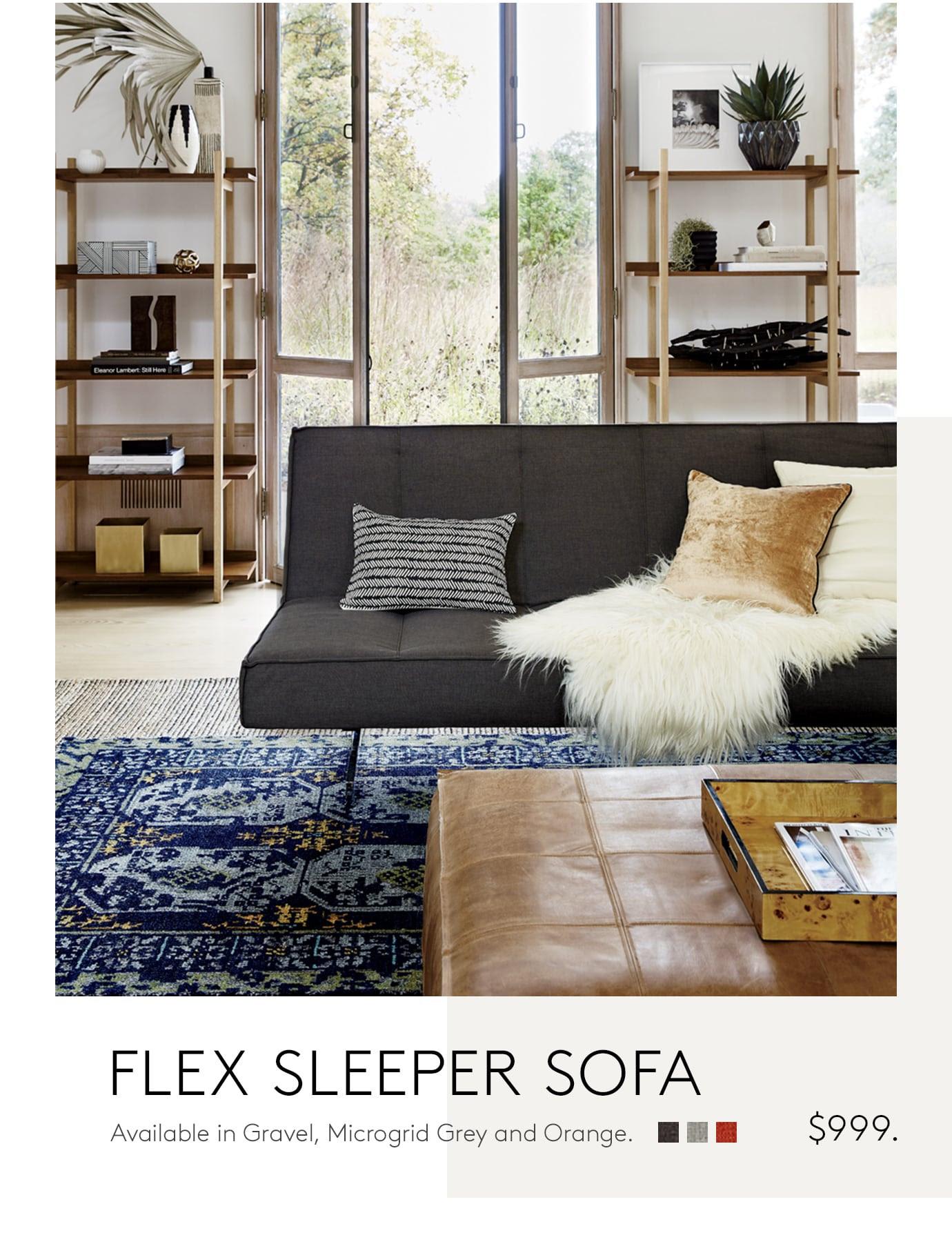 flex sleeper sofa
