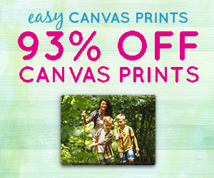 Easy Canvas Prints - 16x20 for $14.99 [440386]