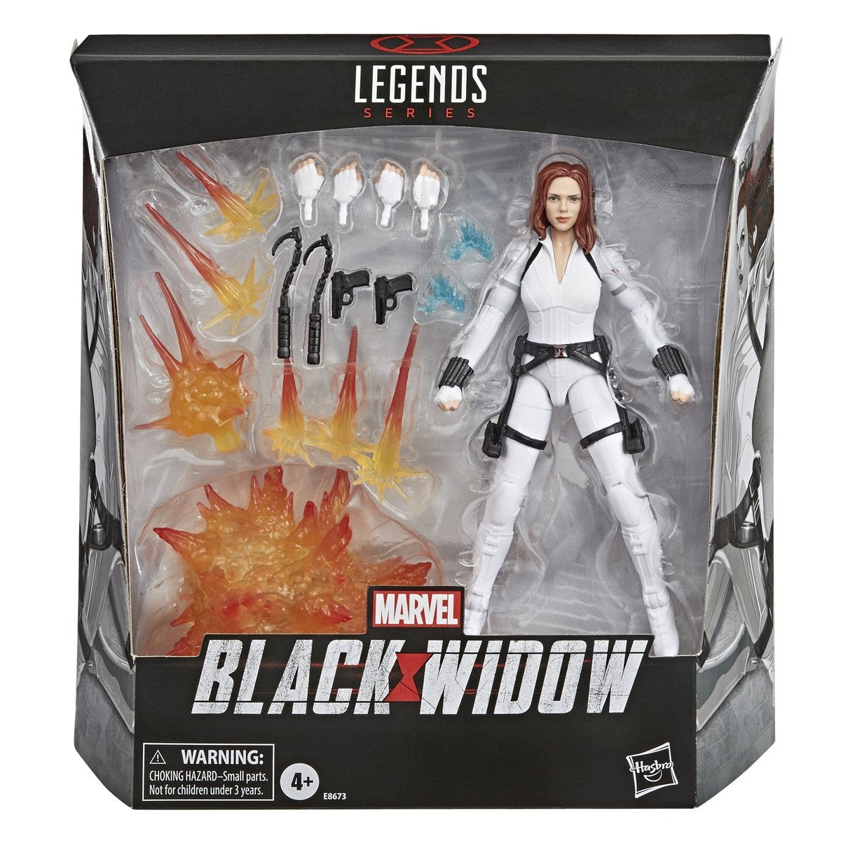 Image of Marvel Legends Deluxe Black Widow Movie Figure by Hasbro