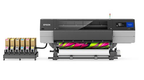 Epson launches sublimation printer with fluorescent inks