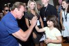 Arnold dá atenção especial ao público infantil (Rodrigo Dod / Savaget)