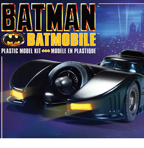 BATMAN 89 BATMOBILE 1/25 SCALE MODEL KIT