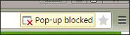 Pop-up blocked