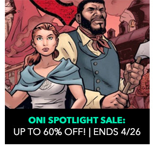 Oni Spotlight Sale: up to 60% off. Sale ends 4/26.