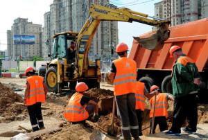 За нарушения экологии столичные строители заплатили 44 млн рублей