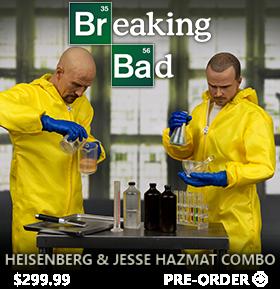 1/6 SCALE HEISENBERG AND JESSE FIGURES