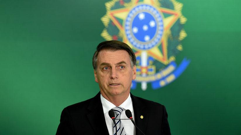Bolsonaro dice que los brasileños