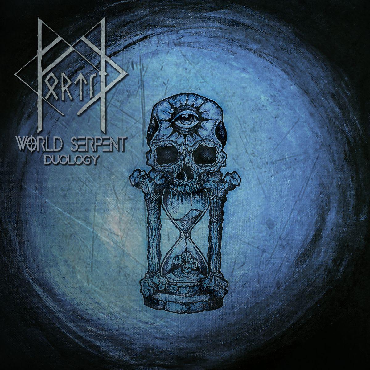 "FORTÍРalbum cover ""World Serpent"""