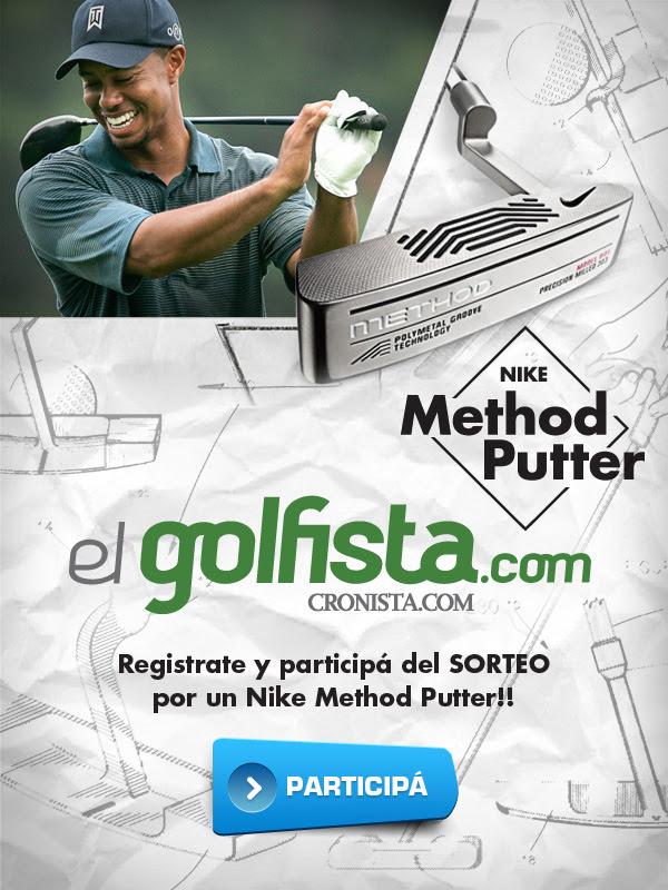 Registrate hoy en www.elgolfista.com y participa del sorteo de un Nike Method Putter