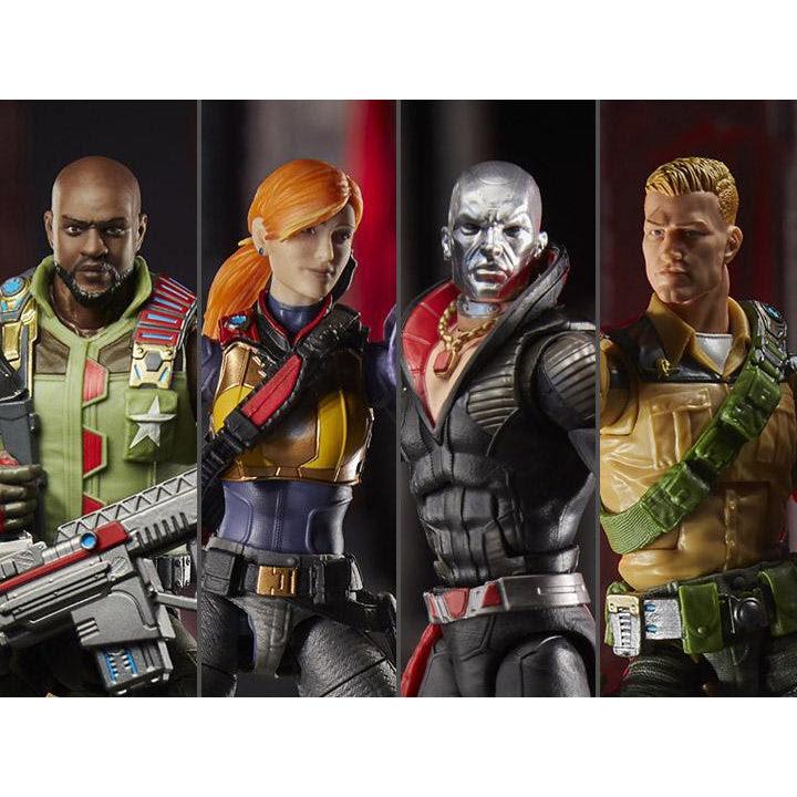 Image of G.I. Joe Classified Series Wave 1 Set of 5 Figures - JUNE 2020