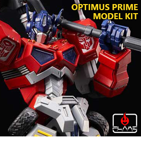 TRANSFORMERS FURAI OPTIMUS PRIME MODEL KIT