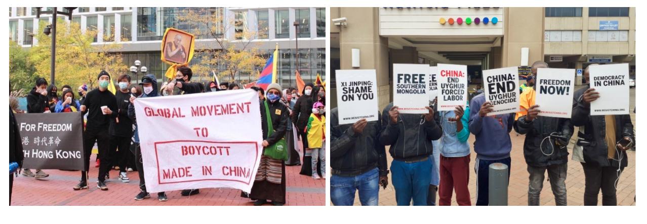 GDAの抗議