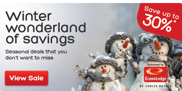 Save Up to 30% OFF Winter Wonderland On Top Destinations Hotels at Hotels.com.