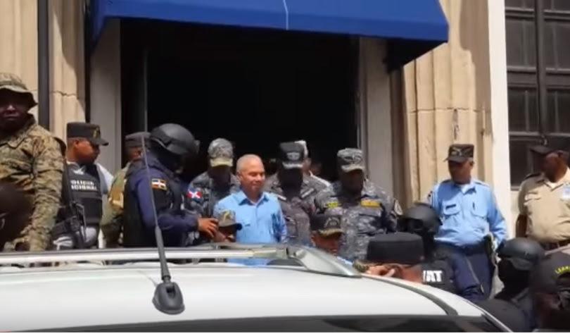 Ángel Rondón ingresa en cárcel Najayo en medio de amplias medidas seguridad