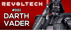 STAR WARS REVOLTECH #001 - DARTH VADER