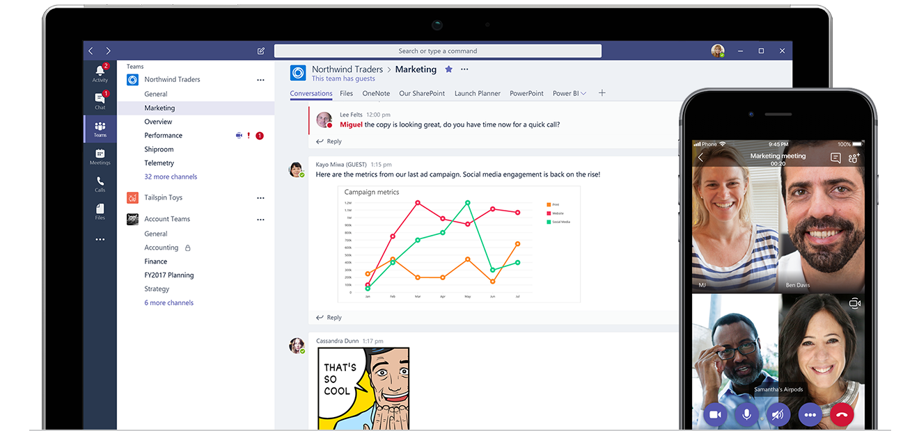 Microsoft Teams can help improve your company's collaboration