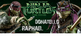THREE ZERO 1/6 RAPHAEL AND DONATELLO