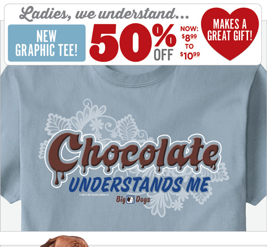 Save 50% on the NEW `Chocolate...