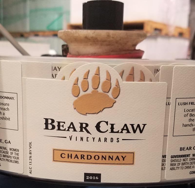 BEAR CLAW LABEL