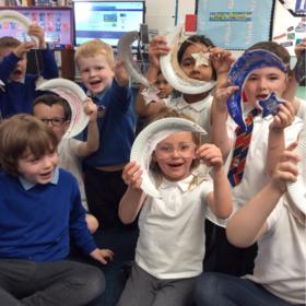 Arkleston Primary School pupils