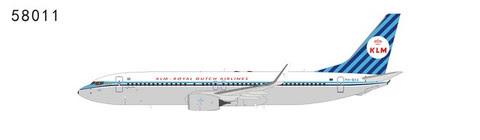 Boeing 737-800 KLM retro PH-BXA | is due: April 2019