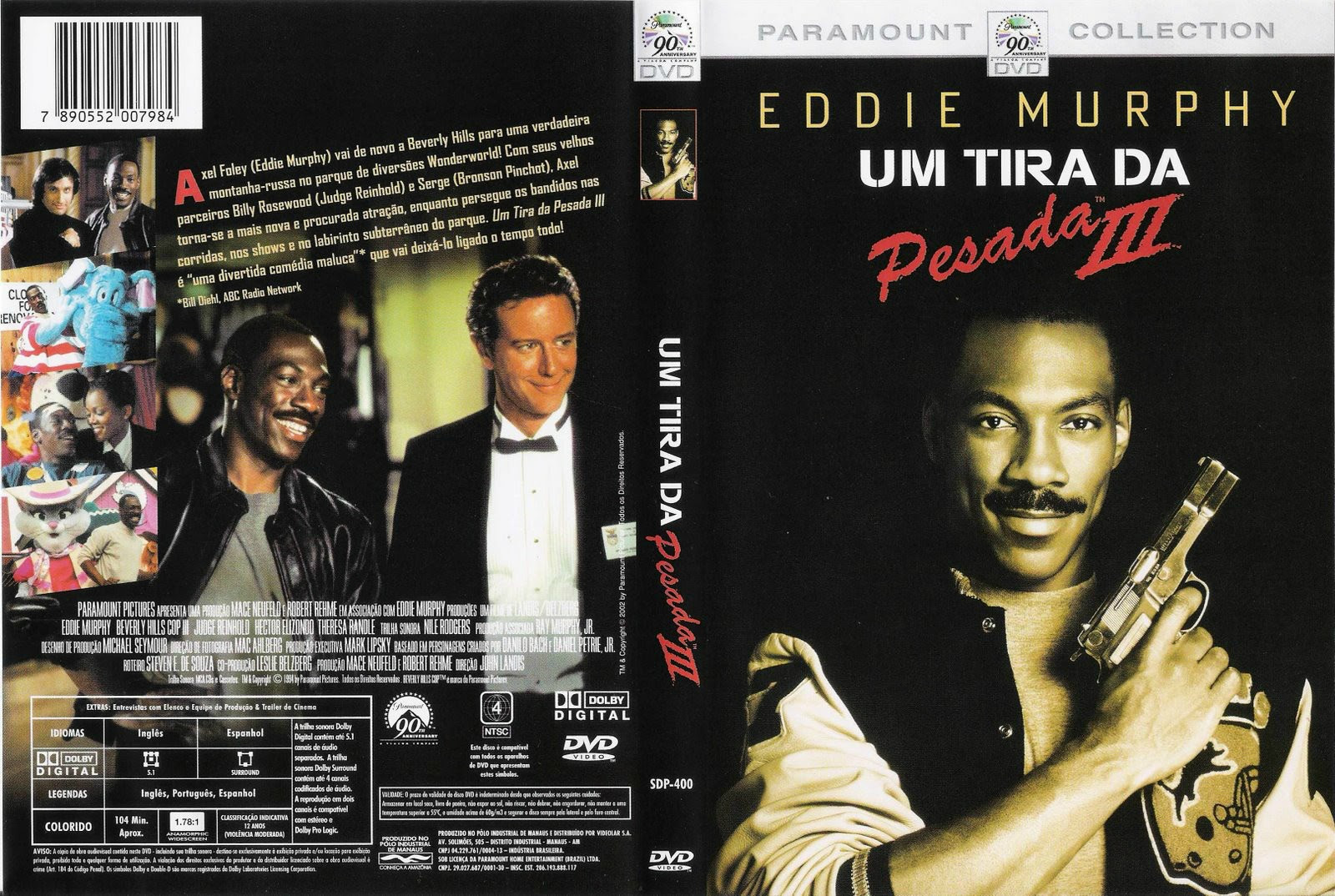 Um Tira Da Pesada 3 Torrent – BluRay Rip 720p Dublado (1994)