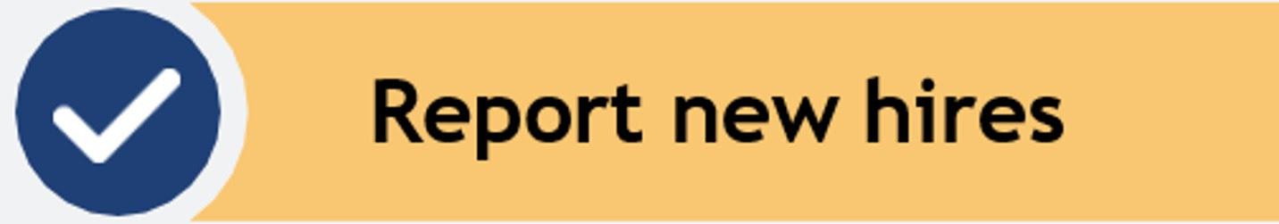 Report new hires