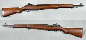 M1 Garand rifle - USA - 30-06 - Armémuseum.jpg