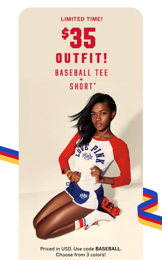 $35 Outfit! Baseball Tee + Short*
