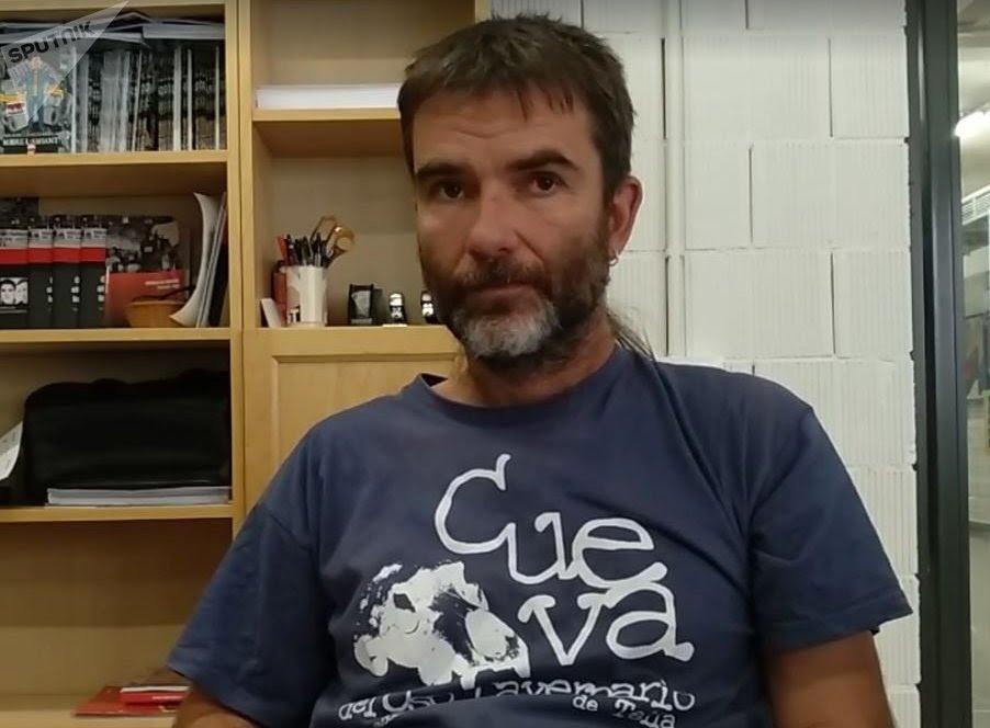 Ermengol Gassiot, secretario general de CGT Cataluña