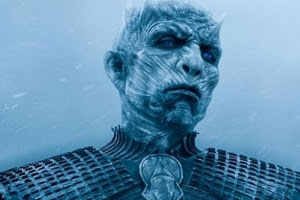 The Night's King watching Jon, 'The force is strong with this one.'