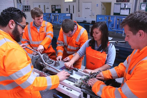 Network Rail sets '20 by 20' target to increase take-up of female employees and tackle engineer shortfall