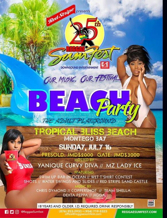Beach Party Reggae Sumfest