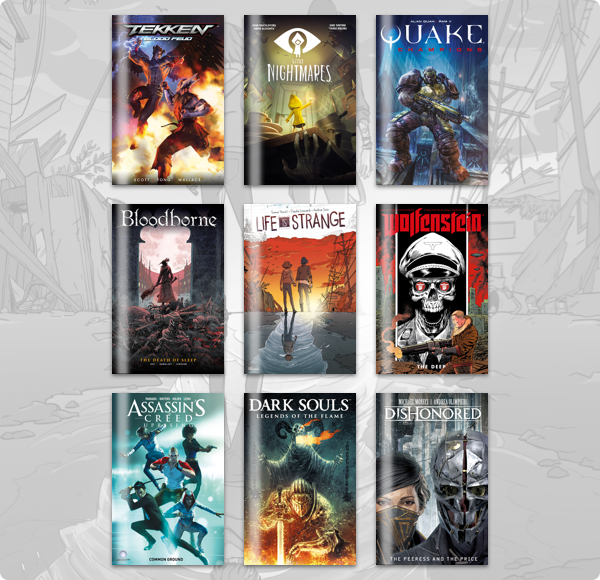 Humble Comics Bundle: Gaming Comics 2019 by Titan